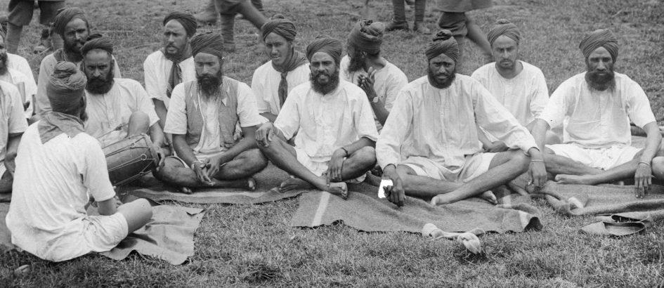 Sikhs reading